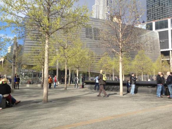 9/11 Memorial Museum Exterior